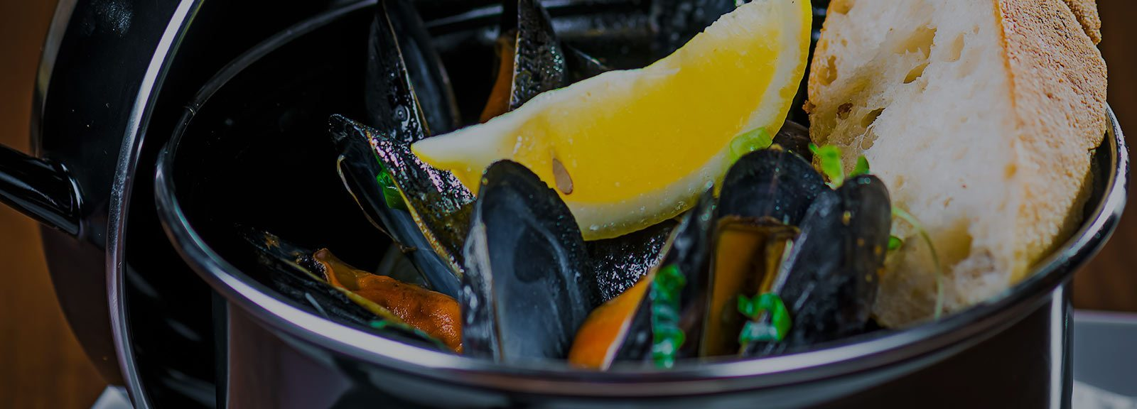 Mussels at the Steakhouse
