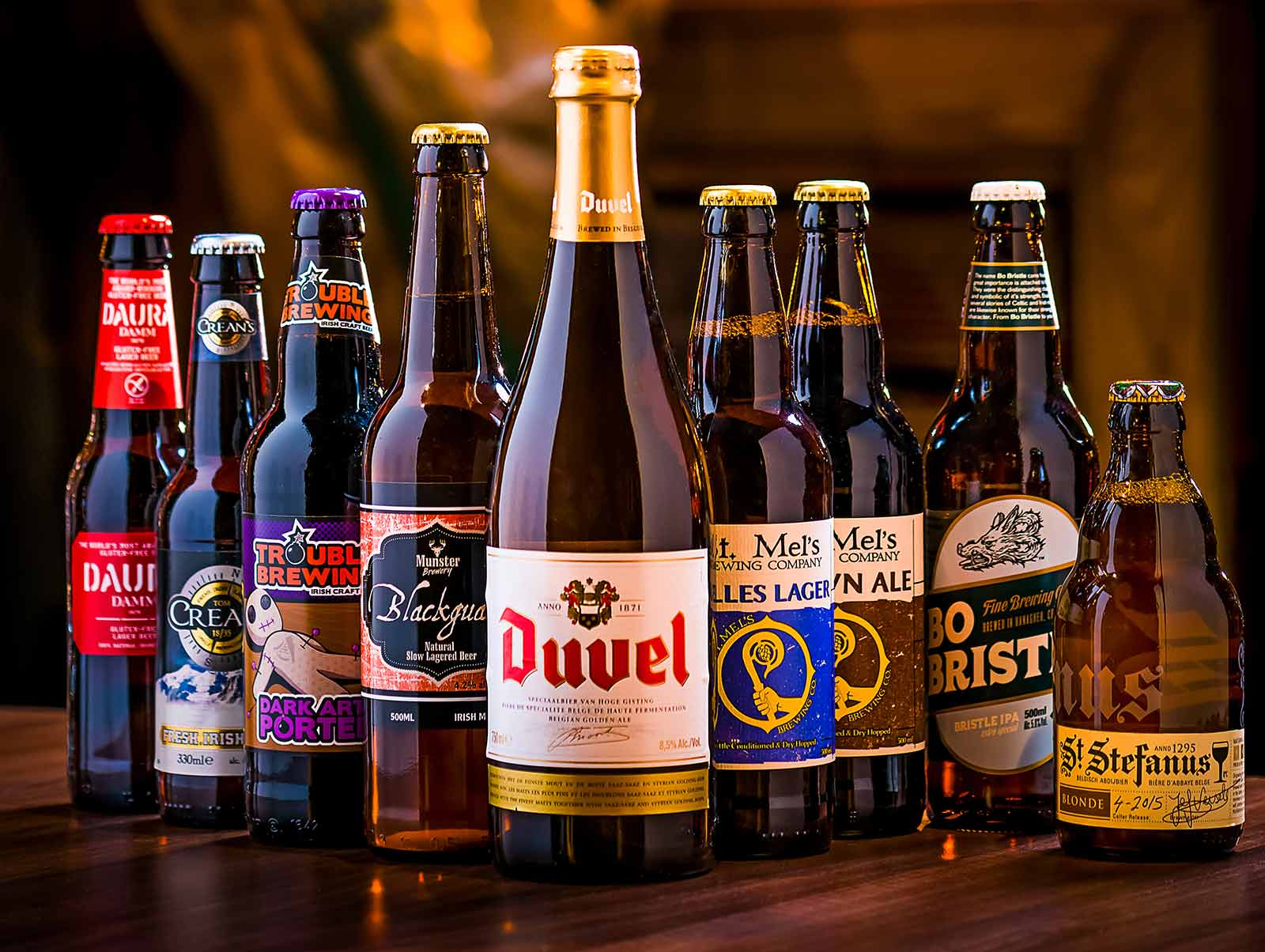 Craft Beers at our Steakhouse in Limerick